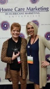 """Home Care Lexington NC - TenderHearted Home Care was Presented with a """"Rising Star"""" Award"""