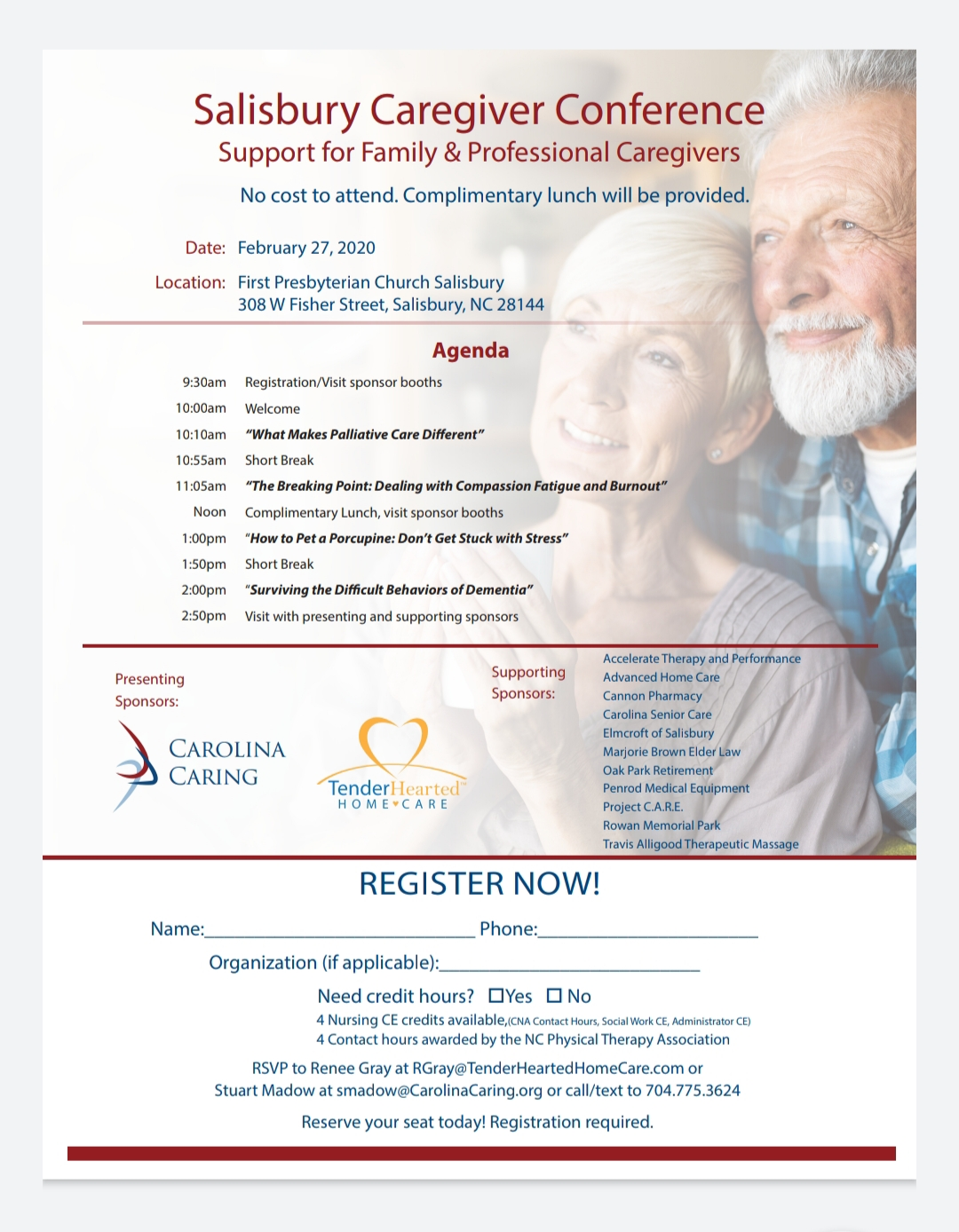 Salisbury Caregiver Conference