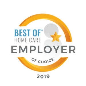 2019 best of home care employer of choice award