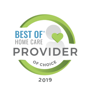 2019 Best of Home Care Provider of Choice award